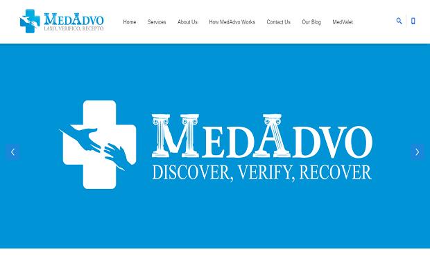 MedAdvo Website