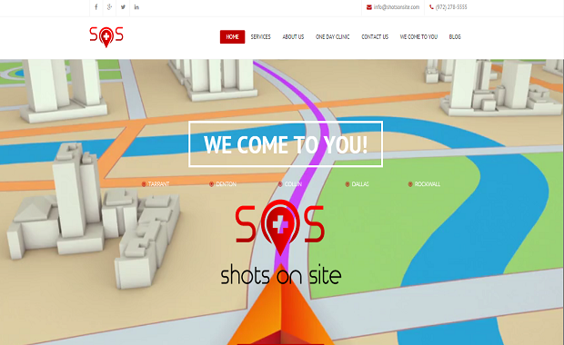 Shots On Site, LLC Website