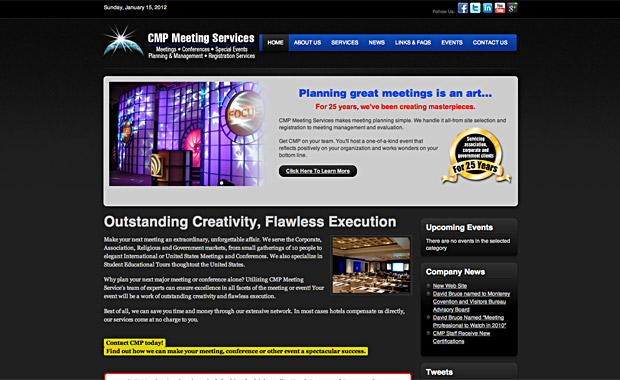 CMP Meetings Website