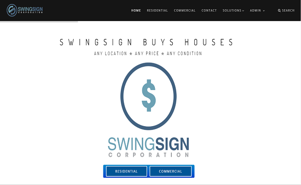 SwingSign Corporation Website